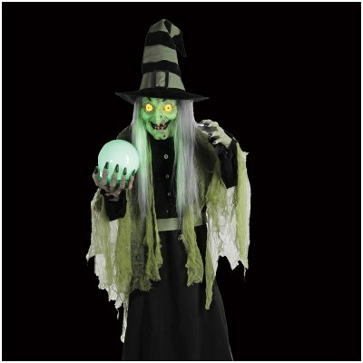 Fortune Teller Witch Animated Figure