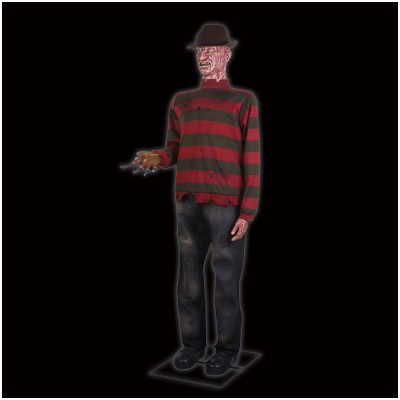Animated Life Size Freddy Krueger