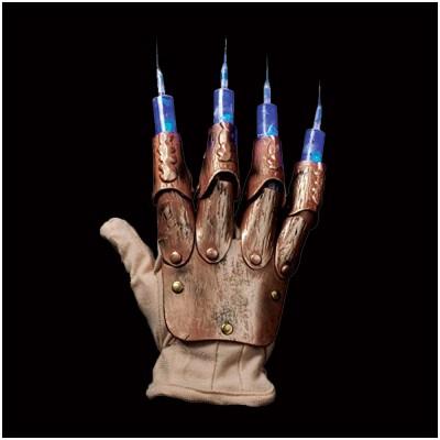 Light Up Freddy Krueger Syringe Glove