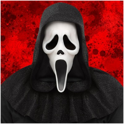 Ghost Face 25th Anniversary Scream Movie Mask - PRE ORDER