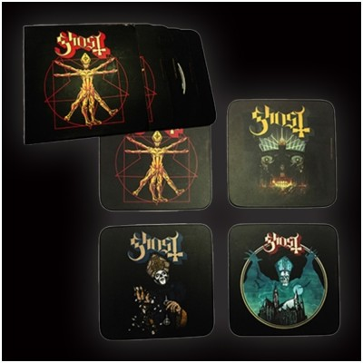 Ghost Coasters (Set of 4)