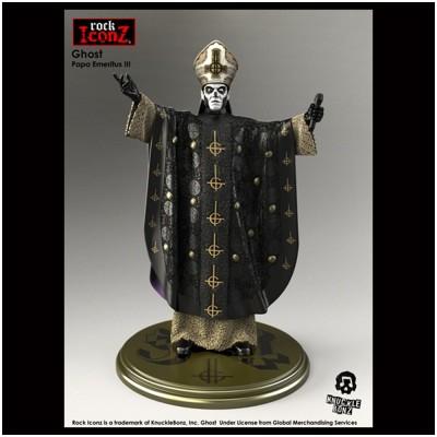 Rock Iconz Ghost Papa Emeritus III Statue