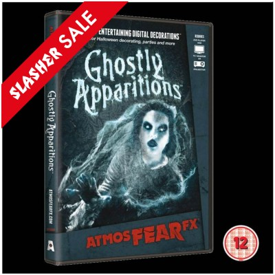 AtmosFEARfx Ghostly Apparitions DVD (12) SALE