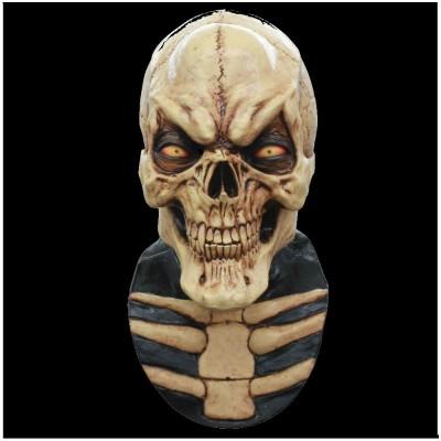 Grinning Skull Halloween Mask
