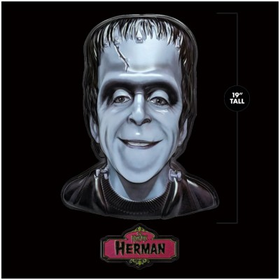 Retro-A-Go-Go Giant 3D Wall Decor - The Munsters, Herman