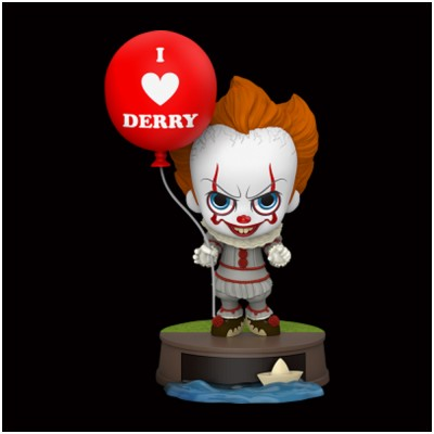 Hot Toys IT Cosbaby - Pennywise with Balloon