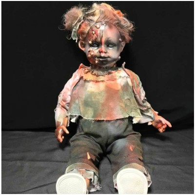 OOAK Large Horror Doll - Contagious