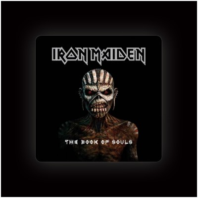 Iron Maiden Book of Souls Coaster (single)