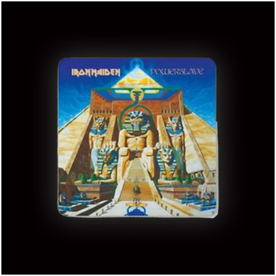 Iron Maiden Powerslave Coaster (single)