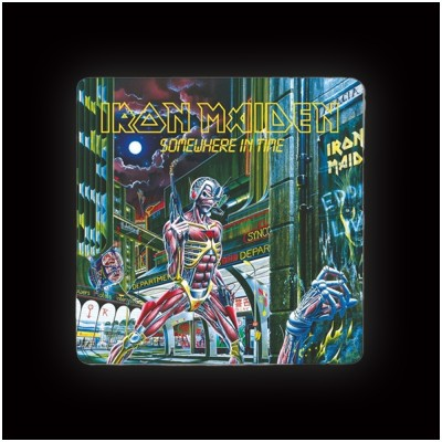 Iron Maiden Somewhere in Time Coaster (single)