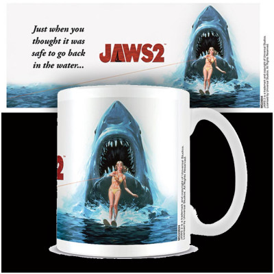 Jaws 2 Poster Mug