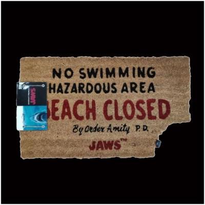 JAWS Beach Closed Door Mat