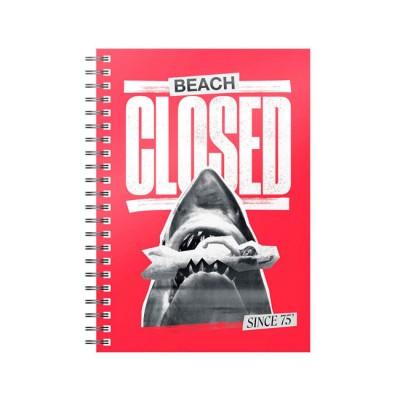 JAWS Beach Closed Notebook