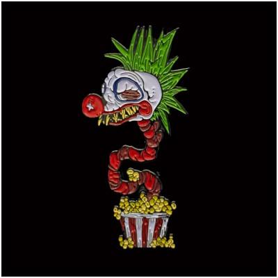 Popcorn Klowns Enamel Pin