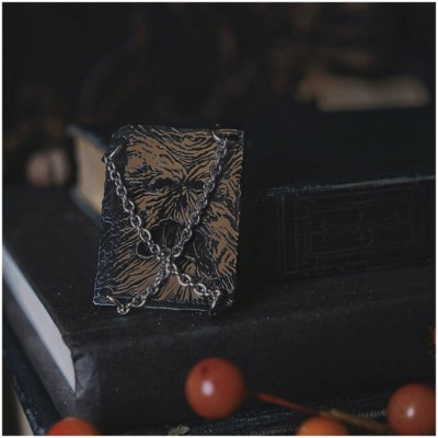 Lively Ghosts - Book of the Dead Pin