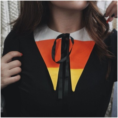 Lively Ghosts - Candy Corn Collar