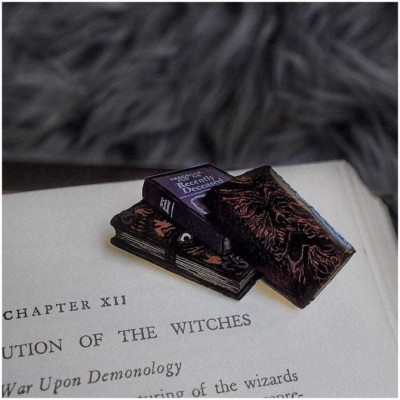 Lively Ghosts - Required Reading Pin