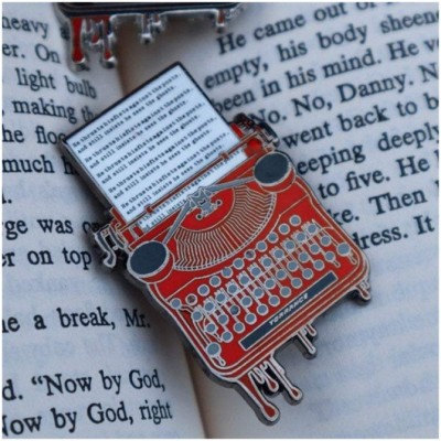 Lively Ghosts - Stephen King Lovers Pin