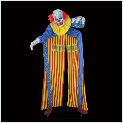 10ft Looming Clown Animated Prop