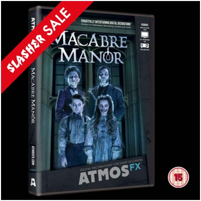 AtmosFEARfx Macabre Manor DVD (15) SALE