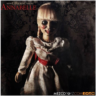"""MEZCO 18"""" The Conjuring Annabelle Doll"""