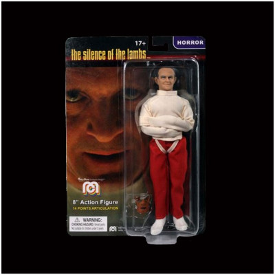 """Mego 8"""" Action Figure - Silence of the Lambs, Hannibal Lecter in Straightjacket"""