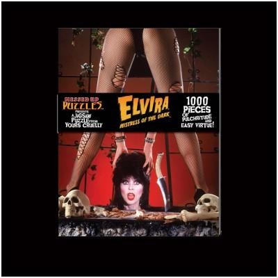 Elvira Jigsaw Puzzle Version A