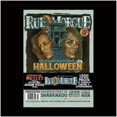 Rue Morgue Halloween Classic Jigsaw Puzzle