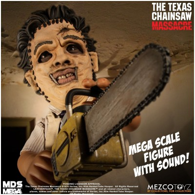 MEZCO MDS Mega Scale The Texas Chainsaw Massacre (1974): Leatherface with Sound