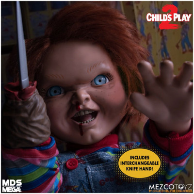 MEZCO MDS Mega Scale Child's Play 2 Talking Menacing Chucky