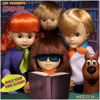MEZCO Living Dead Dolls Scooby Doo Build-A-Figure Mystery Inc Set