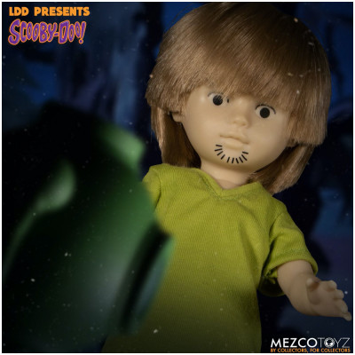 MEZCO Living Dead Dolls Scooby Doo Build-A-Figure: Shaggy