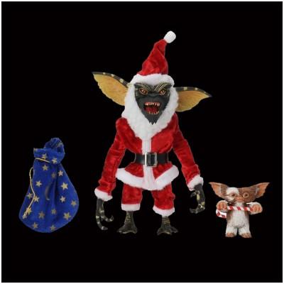 "NECA Gremlins Santa Stripe & Gizmo 7"" Figure"