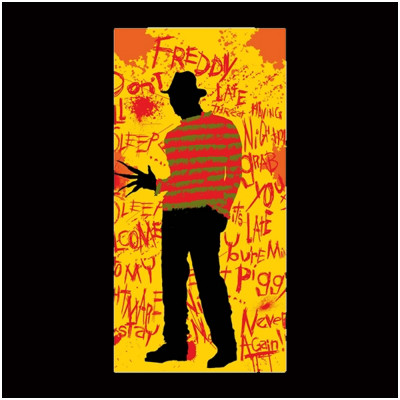 Nightmare on Elm Street Freddy Krueger Towel