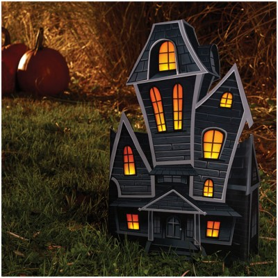 Light Up 3D Haunted House