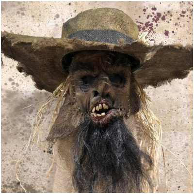 Crop Keeper Mask with Hat