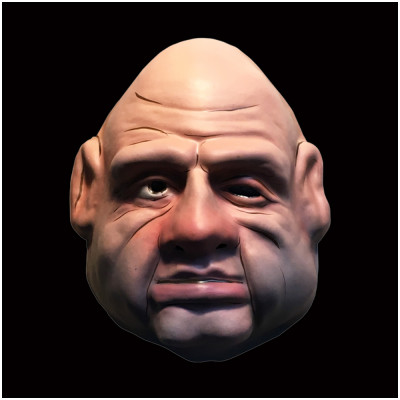 Puppet Master Pinhead Vacuform Mask