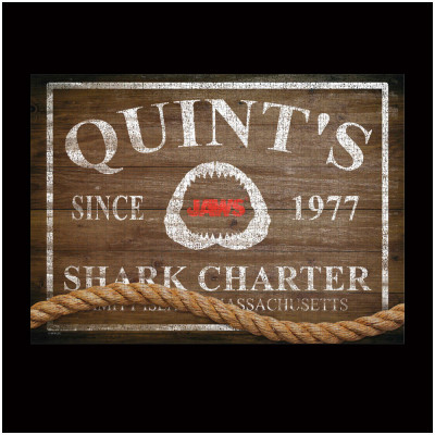 JAWS Quint's Shark Charter Jigsaw Puzzle - PRE ORDER