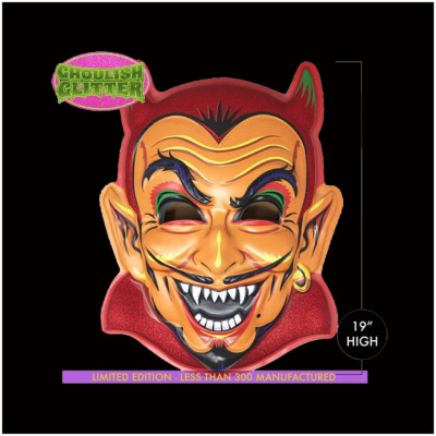 Retro-A-Go-Go Giant 3D Wall Decor - Hot Stuff Devil - Limited Edition