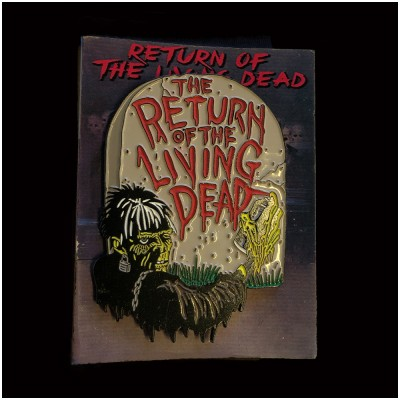 Return of the Living Dead Tombstone GID Pin