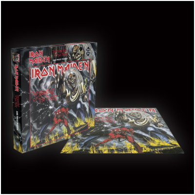 Iron Maiden Number of the Beast Rock Saws 500 piece Puzzle