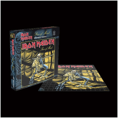 Iron Maiden Piece of Mind Rock Saws 500 piece Puzzle