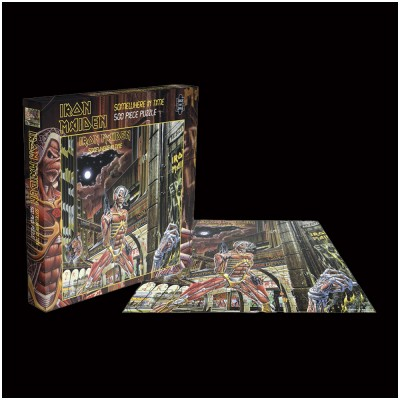 Iron Maiden Somewhere in Time Rock Saws 500 piece Puzzle
