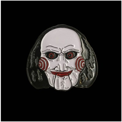 SAW Billy Puppet Enamel Pin
