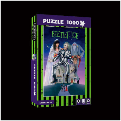 Beetlejuice Movie Poster Jigsaw Puzzle