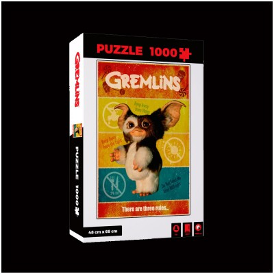 Gremlins There are 3 Rules Jigsaw Puzzle