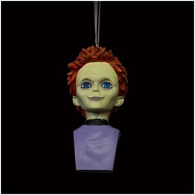 Holiday Horrors - Seed of Chucky Glen Ornament