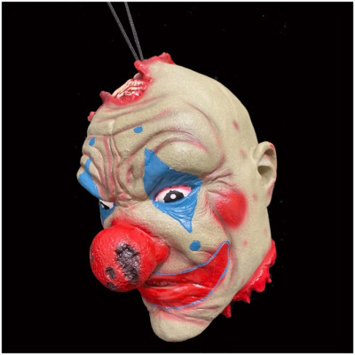 Hanging Severed Clown Head
