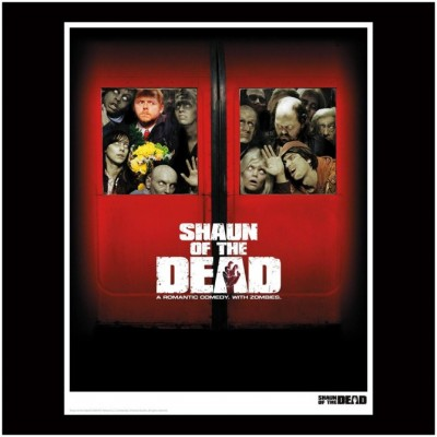 Shaun of the Dead Limited Edition Print - Squashed