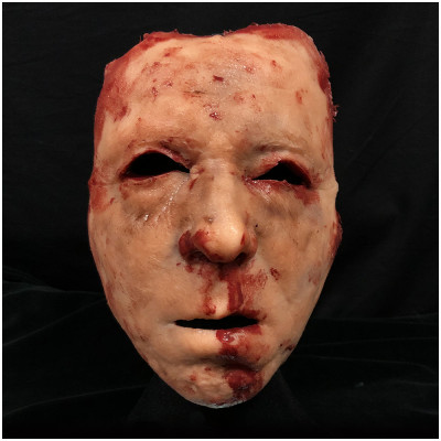 Silicone Skinned Face Mask - NOAH